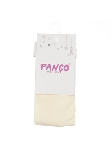 Panço Kız Çocuk Külotlu Çorap 1813600194 Bej
